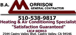 Castro Valley Heat and Air HVAC