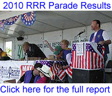 2010 Castro Valley Parade Final Results